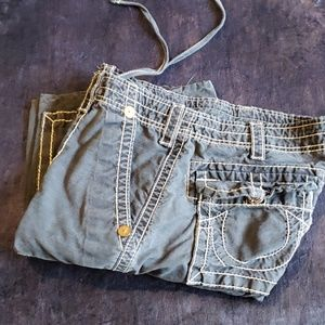True Religion Brand Jean's cargo shorts